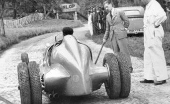 Historic Bugatti will be on display at Pre-War Prescott